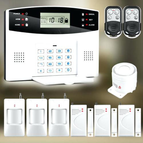 Remote controlled security burglar alarms in Blackpool by D P Solutions